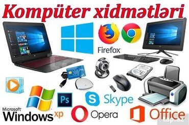 Komputer Xidmətləri:✔Format✔Viruslardan Təmizləmə✔Məlumatların
