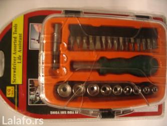 Instrumenti | Smederevo: Geodora manji set sa bitovima, novo u originalnoj kutiji i pakovanju