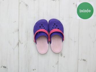 Детские кроксы Crocs    Длина подошвы: около 19 см Состояние хорошее
