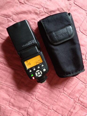 Fotoaparatlar Azərbaycanda: Flaş- Yongnuo- Speedlite YN 560-IIişlenmişdir. lakin çox yaxşı