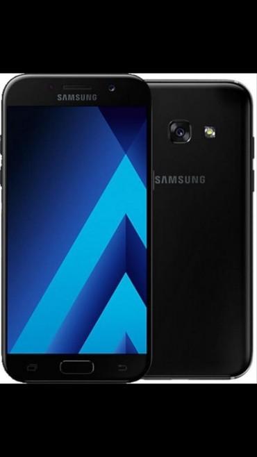 Сотовые телефоны филипс новинки - Кыргызстан: Б/у Samsung Galaxy A5 2017 32 ГБ Черный