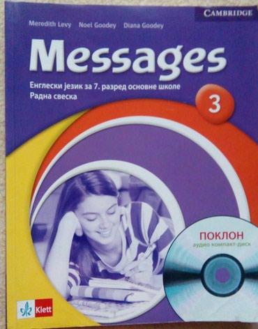 Messages 3, Klett, radna sveska sa diskom.Preuzimanje po dogovoru, - Belgrade