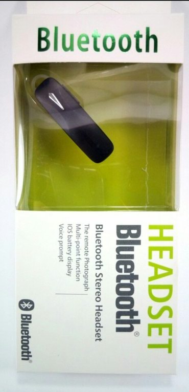 HEADSET bluetooth. - Nis