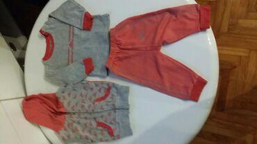 Ostala dečija odeća | Sombor: Komplet trenerkica i prsluk 80