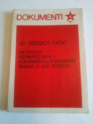 Dokumenti , 20. Sednica ckskj , aktivnost neprijateljskih - Kovin