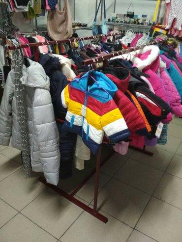 вешалка напольная двойная для бутиков в Бишкек