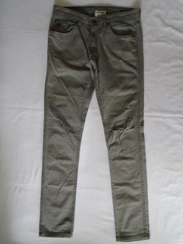 Cepane farmerke - Srbija: Pull&Bear cepane pantalone, nošene, bez oštećenja. Veličina je 42