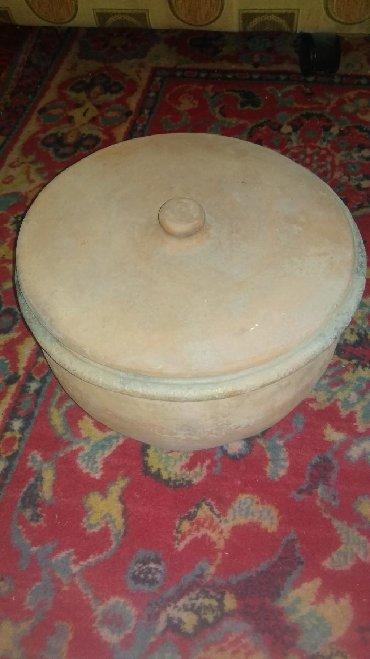 Горшок для тушки овощей и мясо союзный глиняный антиквариат сатылат