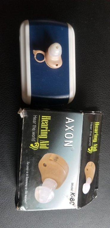 Слуховые аппараты - Кыргызстан: Продаю для глухих наушник без поводной