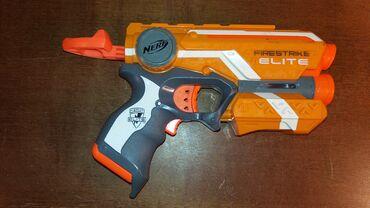 Nerf Elite Firestrike. Ispravan i testiran. Radi i laser za