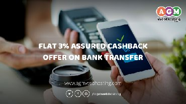 Get Flat 3% Assured Cashback on Every Bills Payment Via Bank Transfer