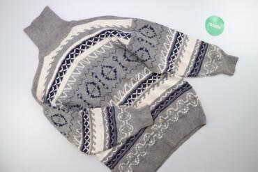 Чоловічий светр з візерунком SMG р. S    Довжина: 78 см Ширина плечей
