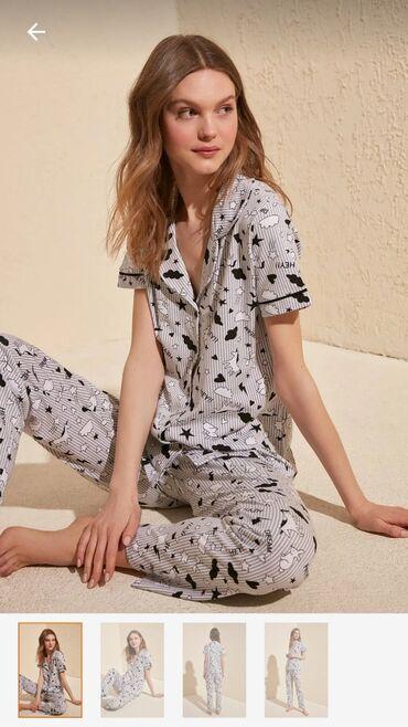 pijama - Azərbaycan: Trendyolmilla Pijama DəstiÇatdırılma 7-10 günWhatsapp 7/24 aktivdir