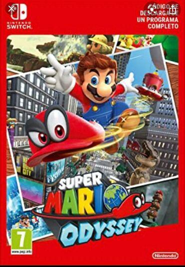 Электроника - Чон-Арык: Куплю Super Mario Odyssey за 2500 сомов