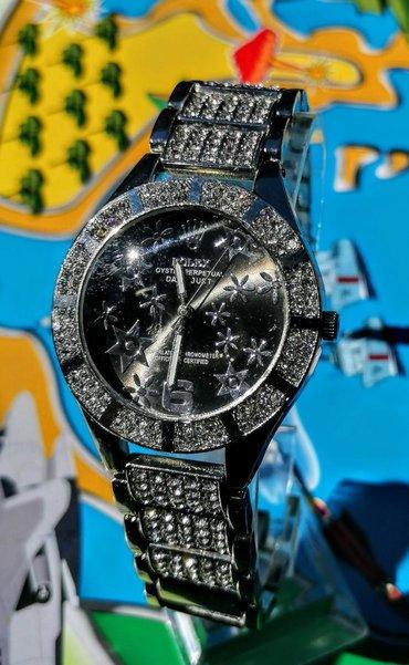 Rolex sat,  nerdjajući čelik, dijamantski dizajn sa datumom, u