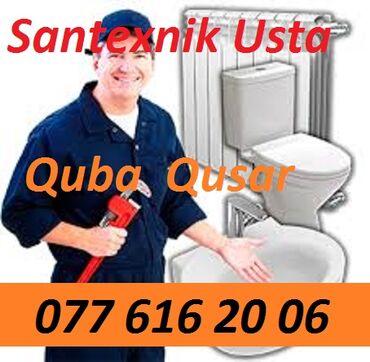 Quba - Qusar r. Santexnik Usta ! -Santexnik -Smesitel, krant ve s avad