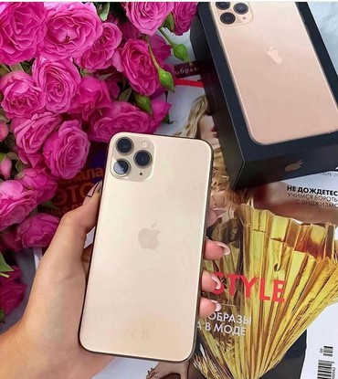 apple 4 s - Azərbaycan: Apple IPhone 11 Pro Max 64GB Zəmanət 12 AY