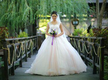 летнее платье трапеция в Кыргызстан: Продаю новое свадебное платье, сшитое под заказ, второго такого нигде