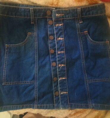 Προσωπικά αντικείμενα - Ελλαδα: Τζιν φούστα 40. (m/l)