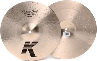 Zildjian k ΟΛΑ ΚΑΙΝΟΥΡΓΙΑ!!! 14'' Custom Dark HH 430 € 19'' Custom