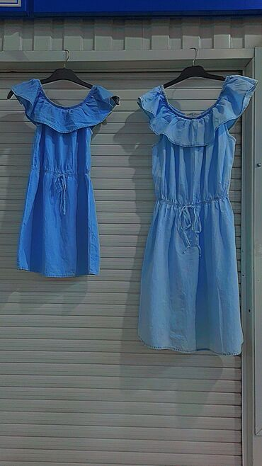 Детский мир - Буденовка: Платья красивые повседневные .Детское 700 сом для девочки от 7 до 10