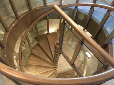 Лестницы на заказ дуб орех карагач сосна .гарантия качества! в Лебединовка