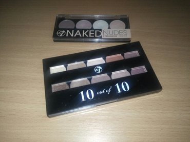 Original w7 paleta senki 10 out of 10 + w7 paleta naked nudes. Malo su - Beograd
