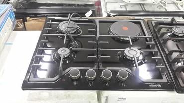 Плиты и варочные поверхности - Кыргызстан: Плиты и варочные поверхности. Вытяжки, встраиваемые духовки,газ плиты
