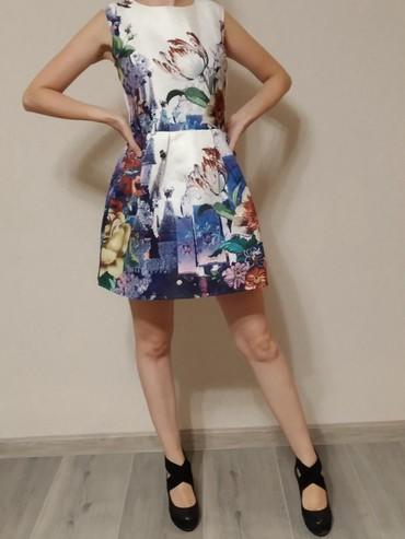 коктейльное платье большого размера в Кыргызстан: Платье на девушку ростом до 155 см. новое, было куплено в порыве