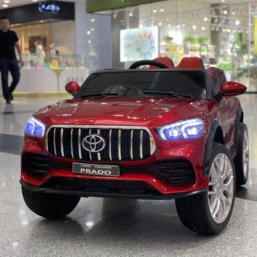Машинки для детей   Toyota Prado  Оптикаемый кузов, что позволяет возд