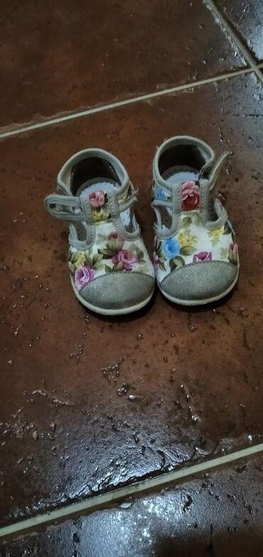 Dečija odeća i obuća | Zrenjanin: Dva para Pavle patofni/sandala broj 18. Cena za oba para