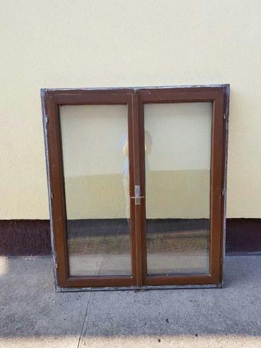 Dupli dvokrilni polovni prozor u odličnom stanju dim. 120x140 - sa - Beograd