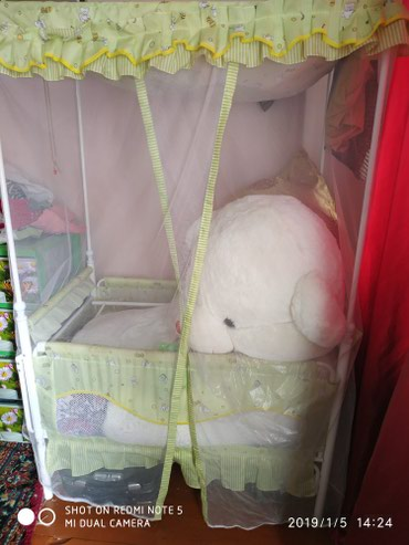 Qusar şəhərində Детская кровать почти новая