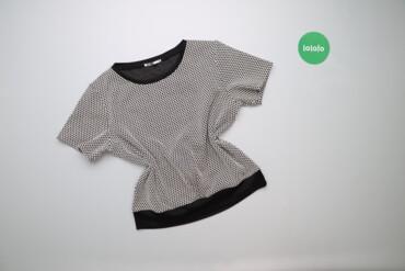 Рубашки и блузы - Состояние: Б/у - Киев: Жіноча блуза з принтом Drywash, p. M    Довжина: 53 см Ширина плечей