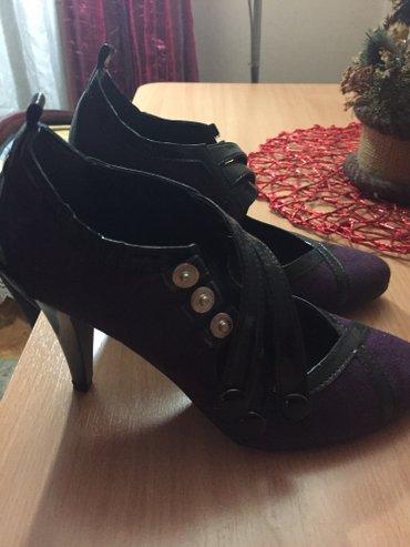 Nove, nenosene cipele br.36, boja tamno ljubicasta - Vranje