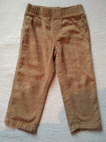 Вельветовые брюки на 3 года. почти новые. 350 сом. в Бишкек