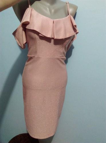 Haljina-sa-sljokicama - Srbija: Prelepa haljina, roze boje sa sljokicamaVelicina S, sa