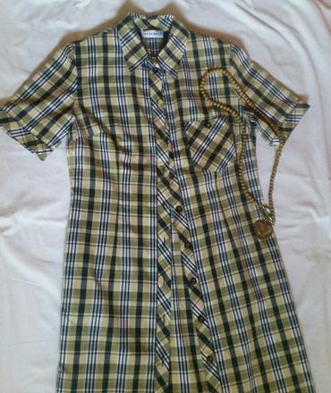 Kosulja haljina, M/L velicina. Ramena 40 cm, pazuh 49 cm, duzina 110 - Ruma