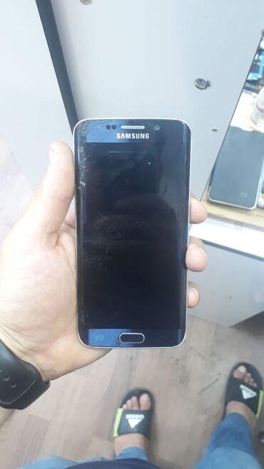 Samsung - Azərbaycan: İşlənmiş Samsung Galaxy S6 Edge göy