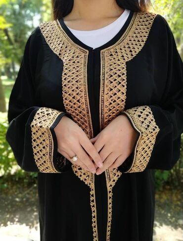 блестящее черное платье в Кыргызстан: Абайка из Саудовской АравииСостояние: НОВОЕЦвет: чёрный Размер: MОчень