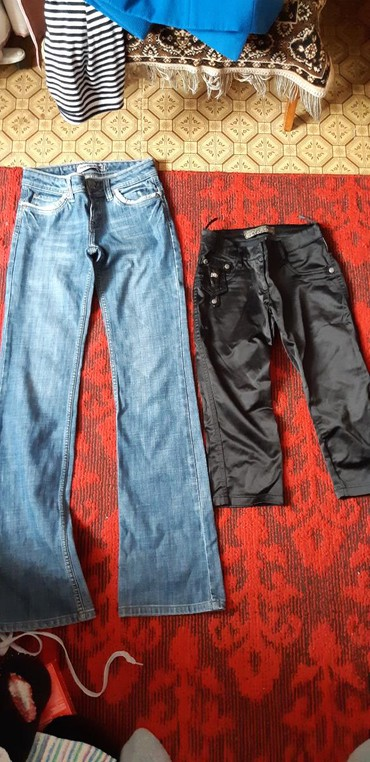 Любые штаны джинсы 200 сом .на худеньких. размер 25-26 в Бишкек