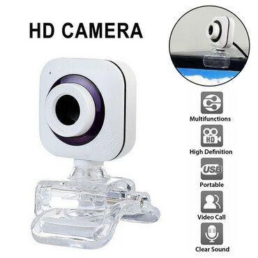 холодильные камеры бу в Кыргызстан: ВЕБ КАМЕРА V4 360 ° Вращение HD, USB, AF Автофокус, встроенный шумо