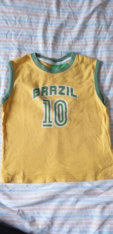 Majca za decake - Srbija: Zara majica za decake Brazil 2-3 godine