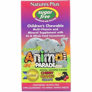multi functional в Кыргызстан: Source of Life, Animal Parade, Children's Chewable Multi-Vitamin and