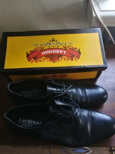 Мужские туфли, одевались только на примерку, кожаные, размер 47 (Китай