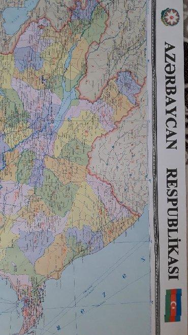 ширма недорого в Азербайджан: Карта Азербайджанской Республики. Не висела, не выгорела, новая