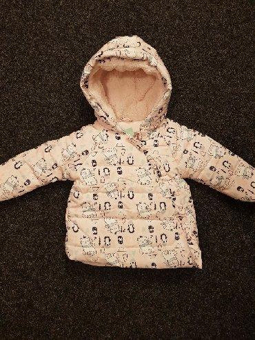 Zimske-kape-o - Srbija: Snizena na 1500Zimska jakna za devojčice Br. 86 (12-18)Br. 92 (18-24)