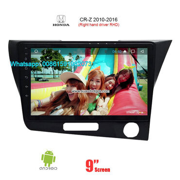 Honda CR-Z Right hand drive smart car stereo Manufacturers Model