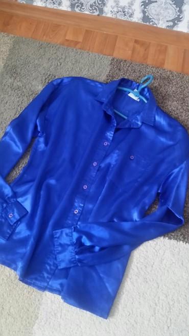 Košulja zenska veličina 42 poliester 100% Kraljevsko plave boje - Pirot