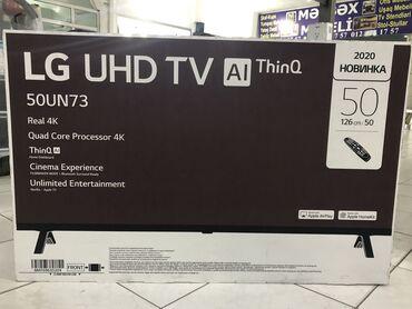 LG 50 UN 7350 (126cm) 2020 model. 1il rəsmi zəmanət. Yenidir və satış